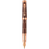 Перьевая ручка Parker PREMIER  Luxury Brown PT   FP F 89 912K